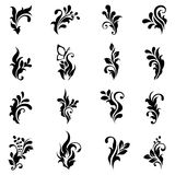 Swirly design elements 2 Royalty Free Stock Photos