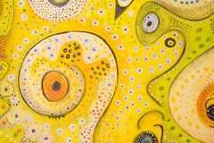 Swirly Dots Stock Photo