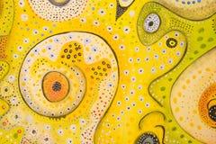 Swirly Dots Stock Photo