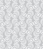 Swirly floral pattern Royalty Free Stock Image