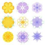 Swirly flowers Royalty Free Stock Photo