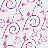 Swirly flowers Royalty Free Stock Images