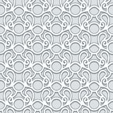 Swirly grey pattern Stock Photos