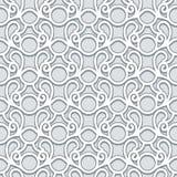 Swirly grijs patroon Stock Foto's