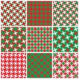 Swirly Holiday Patterns Royalty Free Stock Photo