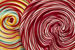 Swirly lollipop background Royalty Free Stock Image