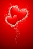 Swirly Love Stock Images