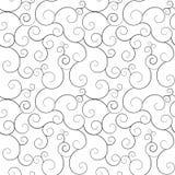 Swirly modelli senza cuciture, fondo di vettore. Illustrazione di Stock
