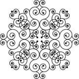 Swirly Muster Lizenzfreies Stockbild