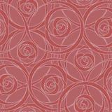Swirly nahtloses Tapeten-Muster Stockfotos