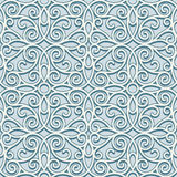 Swirly ornament, vintage seamless patter Royalty Free Stock Images