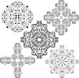 Swirly patterns Stock Photo