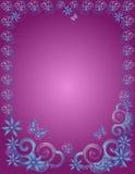 Swirly Rand Stockbilder