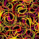 Swirly seamless background Stock Photography