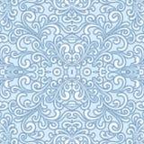Swirly seamless pattern Stock Image