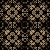 Swirly seamless pattern Royalty Free Stock Images