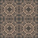 Swirly seamless pattern Stock Images
