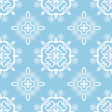 Swirly seamless pattern Royalty Free Stock Image