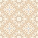 Swirly seamless pattern Royalty Free Stock Image
