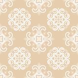 Swirly seamless pattern Royalty Free Stock Photo