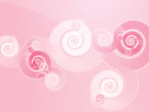 Swirly spiral background Royalty Free Stock Image