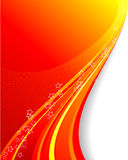 Swirly vector background Royalty Free Stock Images