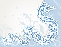 Swirly wąż ilustracja wektor
