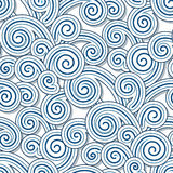 Swirly waves Stock Photography