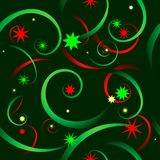 Swirly Xmas Stock Images