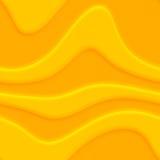Swirly yellow Royalty Free Stock Image