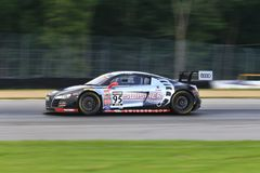 Swisher Racing Audi R8 Stock Photos