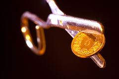 Swiss 5-coin Royalty Free Stock Photography
