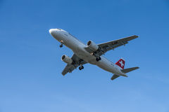 Swiss air Stock Photography