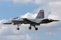 Swiss Air Force McDonnell Douglas F/A-18C Hornet Fighter aircraft J-5009. stock photo