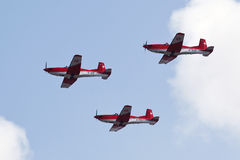Swiss Air Force PC-7 Team Royalty Free Stock Photography