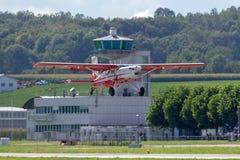 Swiss Air-Kracht Pilatus PC-6 Portiersvliegtuigen v-622 royalty-vrije stock fotografie
