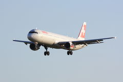 Swiss Airbus A321 Stock Photography