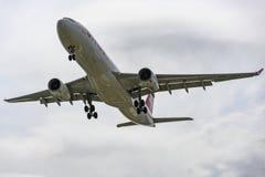 Swiss Airlines Airbus A330 fotografía de archivo libre de regalías