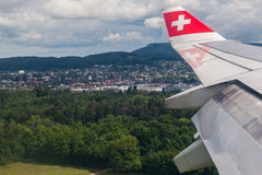 Swiss Airlines Aircraft Stock Photos