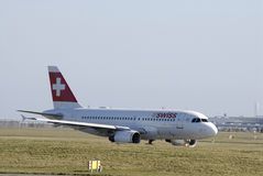 SWISS AIRLINES Royalty Free Stock Photos
