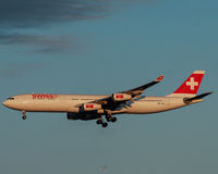 Swiss Airlines Royalty Free Stock Images
