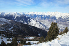 Swiss Alpes Royalty Free Stock Photography