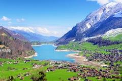 Swiss alpine landscape, Switzerland Royalty Free Stock Image