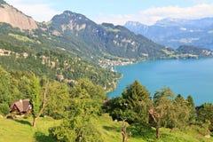 Swiss Alpine Landscape (Vierwaldstättersee) Stock Photography