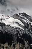 Swiss alpine scenery Stock Images