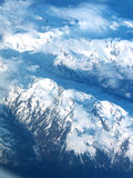 Swiss alps. From high above Stock Image