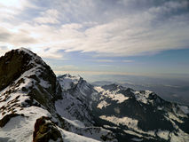 The Swiss Alps Royalty Free Stock Image