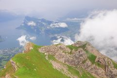Swiss Alps. Stock Photography