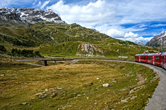 In Swiss Alps Royalty Free Stock Photos