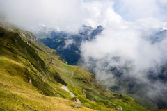 Swiss Alps Royalty Free Stock Photos
